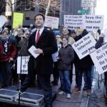 Diez mil sitios web se negaron a tomar SOPA