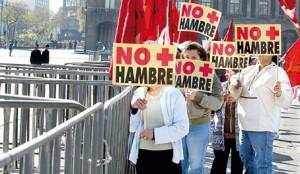 mex protesta hambre