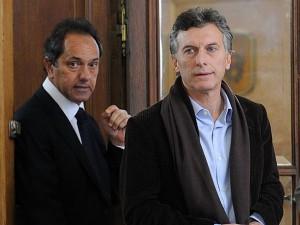 Macri y Scioli, expectatntes