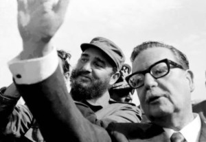 chile allende y fidel