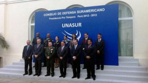 unasur reunion de ministros defensa