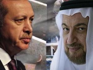 Recep Tayyip Erdogan y Yasin al-Qadi