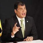 Ecuador: Presidente Correa removió al alto mando militar