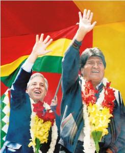 BOLIVIA-UPRISING-ANNIVERSARY-GARCIA LINARES