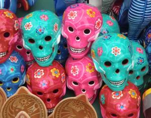 mascaras esqueletos