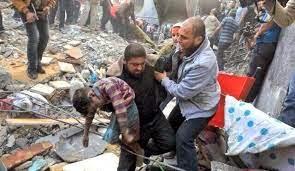 gaza destruccion