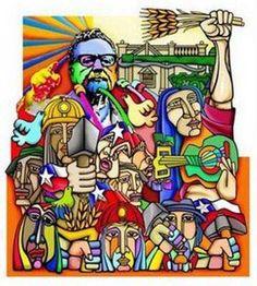 chile 73 allende mural
