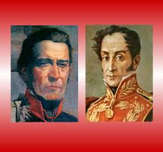 Artigas y Bolívar