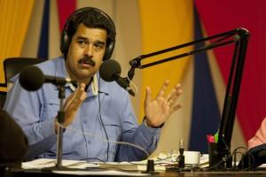 """EL PRESIDENTE DE VENEZUELA INICIA SU PROGRAMA RADIAL """"EN CONTACTO CON MADURO"""""""