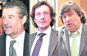 Magistrados Ballesteros, Frah y Freiler