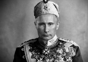 rusia putin emperador