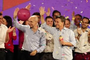 Macri con Rodríguez Larreta, ¡su sucesor en Buenos Aires?