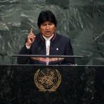 Evo llama en la ONU a acabar con el capitalismo para erradicar la pobreza