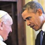 El papa Francisco, Obama y Netanyahu