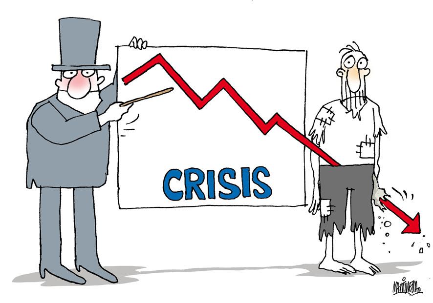 crisis caric