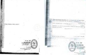 El Ministerio del Interior censuró documentos desclasificados sobre Nibio Melo, pese al Art. 12 de la Ley 18.381.