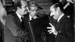 Dictador Videla y Juan Carlos
