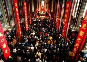 china catolicos