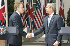 gb blair y bush
