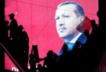 tur erdogan mural