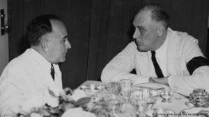 Getulio Vargas y F.D. Roosevelt