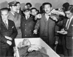 El coronel Quintanilla y el cadáver de Peredo