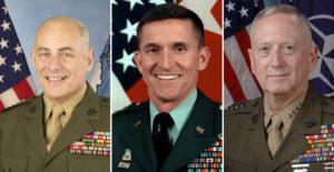 Mattis, Flynn y Kelly
