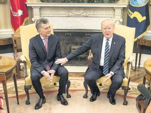 Trump en la cuenta regresiva…y Macri haciendo cola