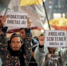 Brasil: El problema no es la salida de Temer, sino con quien y cómo se lo sustituye