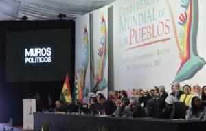 Conferencia Mundial de los Pueblos proclama decálogo para una Ciudadanía Universal
