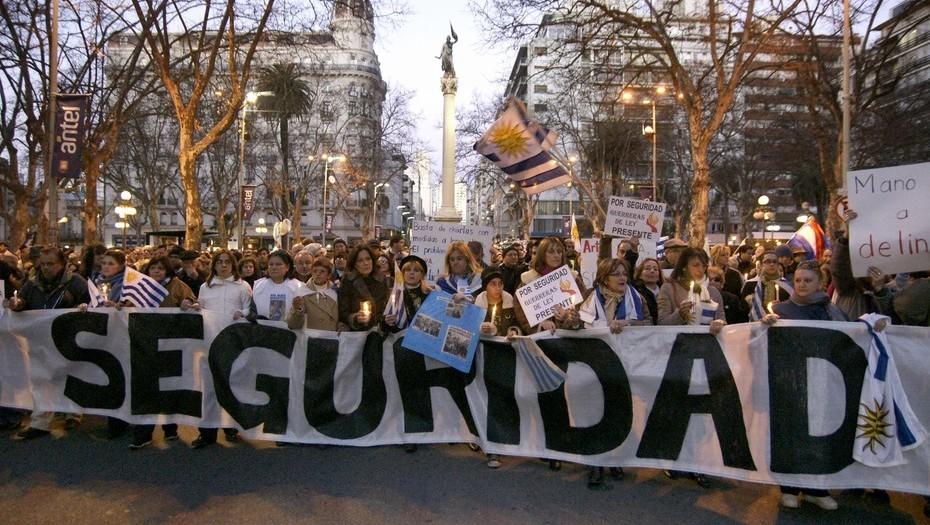 Resultado de imagen para uruguay inseguridad y miedo